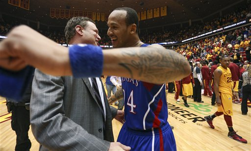 Bill Self, Travis Releford