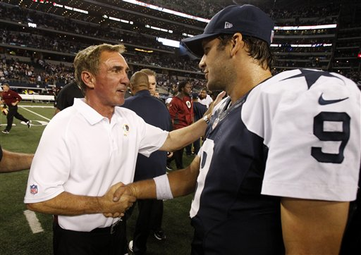 Tony Romo, Mike Shanahan