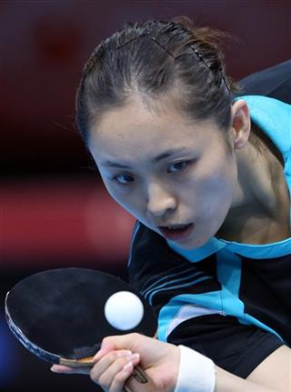 London Olympics Table Tennis Women