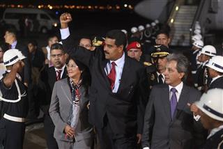 Nicolas Maduro, Cilia Flores