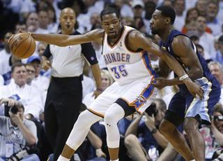 Kevin Durant, Tony Allen
