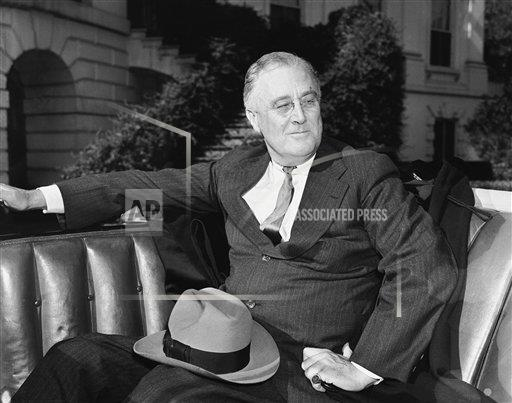 Watchf Associated Press Domestic News  Dist. of Col United States APHS179421 FDR 1936