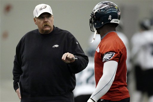 Andy Reid,  Michael Vick