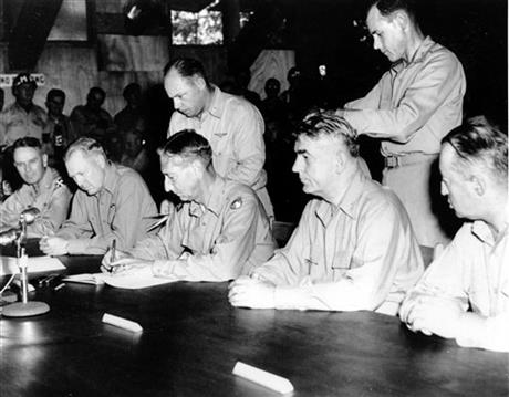 Korean War Armistice Agreement Korean War Armistice