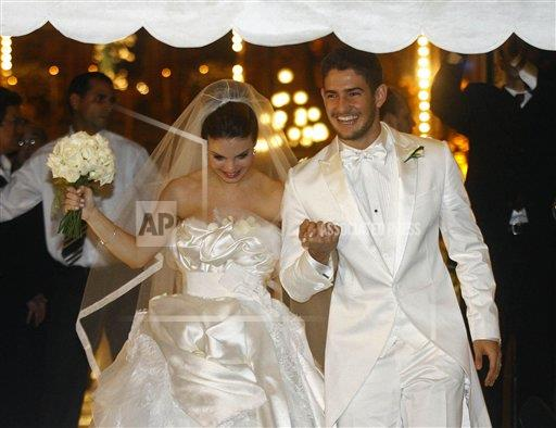 Brazil Alexandre Pato Wedding