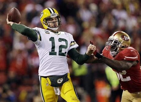 Aaron Rodgers, Patrick Willis
