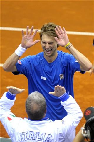 Italy Croatia Tennis Davis Cup