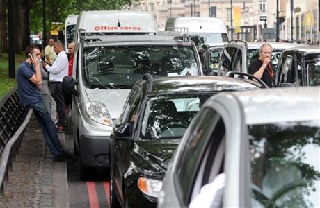 London Olympics Traffic