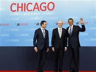 Anders Fogh Rasmussen, Barack Obama, Herman Van Rompuy