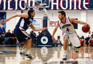 Saint Mary's College takes on Brigham Young University in Moraga