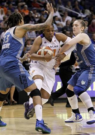 Alexis Gray-Lawson, Seimone Augustus, Lindsay Whalen