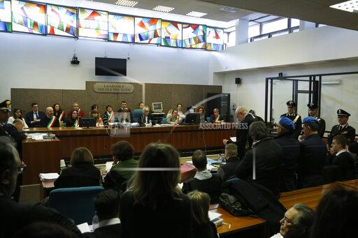 Italy Police Slaying Trial