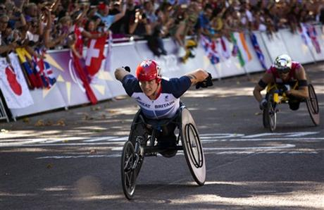 London Paralympics Marathon