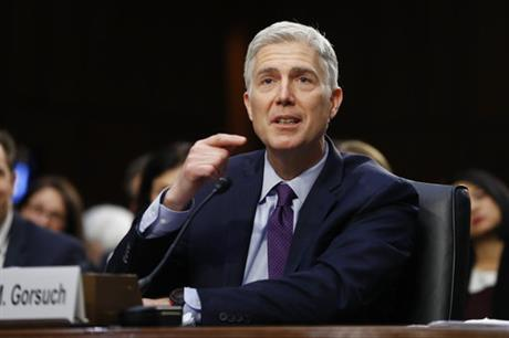 Gorsuch, students defend his questions about women at work