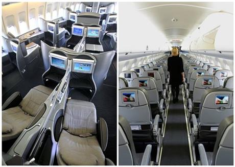 Latest Airline Perk: Safe Distance From the Masses