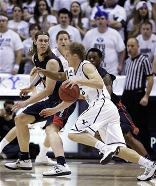 Tyler Haws, Kelly Olynyk, Gary Bell, Jr.,