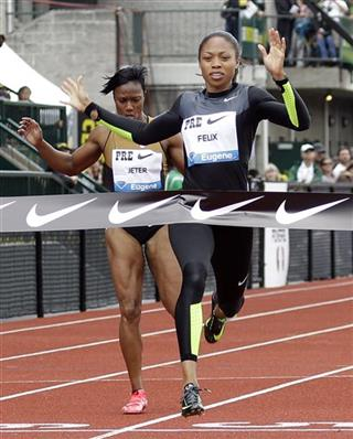 Allyson Felix, Carmelita Jeter