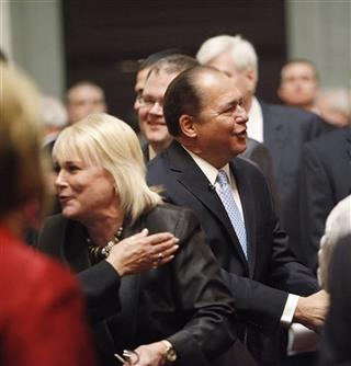 Earl Ray Tomblin, Joanne Jeager Tomblin