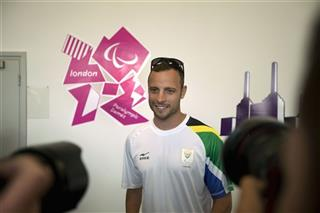 London Paralympics Pistorius