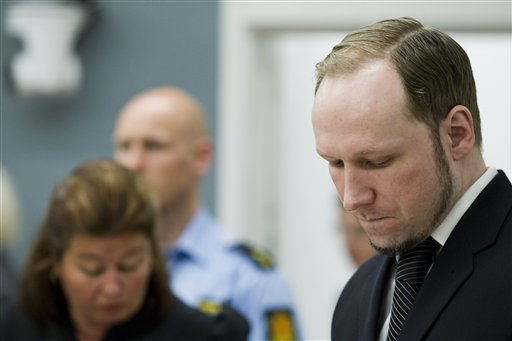 Norway Massacre Trial