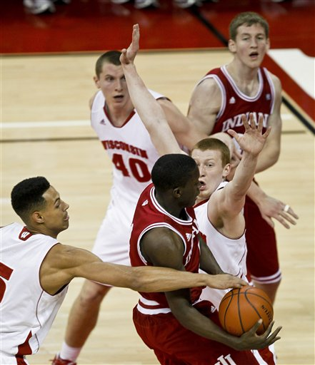 Victor Oladipo, Ryan Evans, Jared Berrgren, Mike Bruesewitz