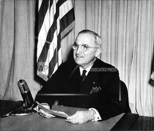 Watchf ASSOCIATED PRESS Domestic News  Dist. of Col United States APHST VE Day Truman