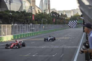 Azerbaijan F1 GP Auto Racing