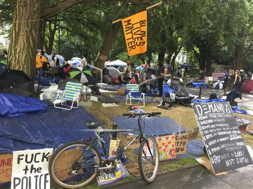 Occupy City Hall Encampment continues to grow in NYC - 6/27/20