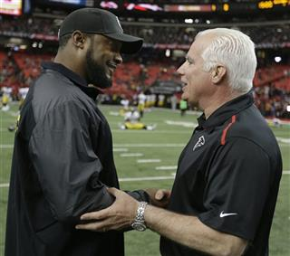 Mike Tomlin, Mike Smith