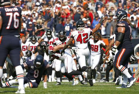 Falcons Bears Football
