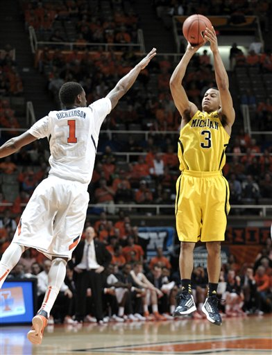 Trey Burke, D.J. Richardson