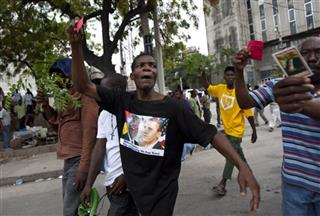 Haiti Protest