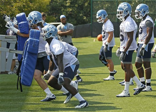 North Carolina Begins Football