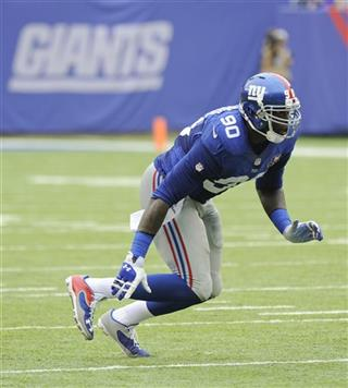 Giants Pierre-Paul Football