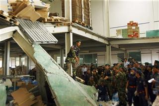 Cambodia Factory Collapse