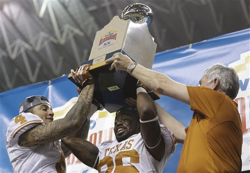 Kenny Vaccaro, D.J. Monroe, Mack Brown