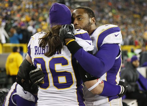 Brian Robison, Erin Henderson