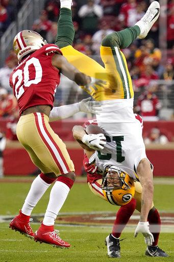 APTOPIX NFC Championship Packers 49ers Football