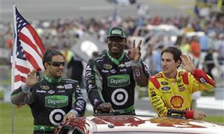 DeMarcus Ware, Juan Pablo Montoya, Joey Logano