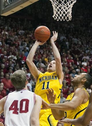Michigan Indiana Basketball