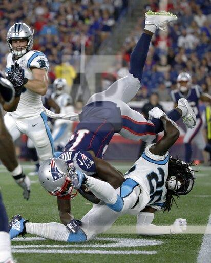 Panthers Patriots Football