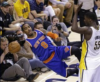Roy Hibbert, J.R. Smith