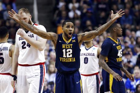 NCAA West Virginia Gonzaga Basketball