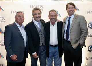 Lanny Wadkins, David Feherty, Sam Torrance, Paul Azinger