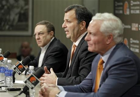 Mike Lombardi, Joe Banner, Jimmy Haslam