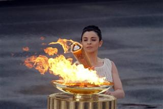Greece London Olympic Flame