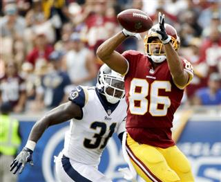 Redskins Rams Football