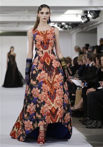 Fashion Oscar de la Renta Fall 2013