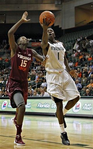 Virginia Tech Miami Basketball