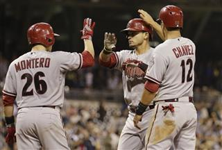 Gerardo Parra, Miguel Montero, Eric Chavez